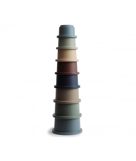STACKING CUPS TOY FOREST