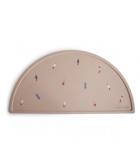 SILICONE PLACEMAT ROCKET SHIP