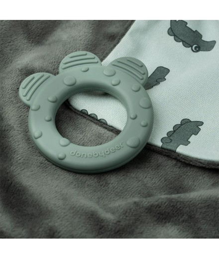 COMFORT TEETHER CROCO GREEN