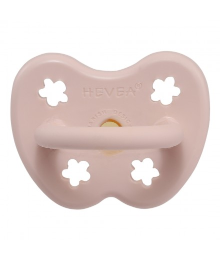 ORTHODONTIC PACIFIER 0-3 MONTHS - POWDER PINK