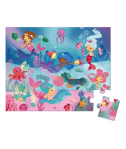 24 PIECES MERMAIDS PUZZLE