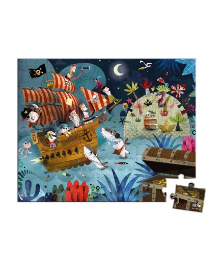 36 PIECES TREASURE HUNT PUZZLE