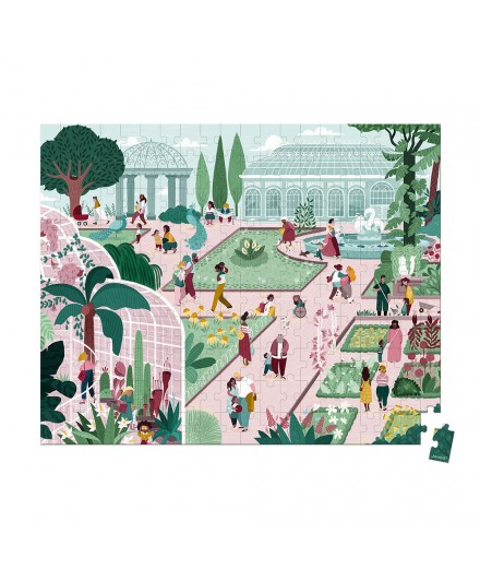 200 PIECES BOTANICAL GARDEN PUZZLE
