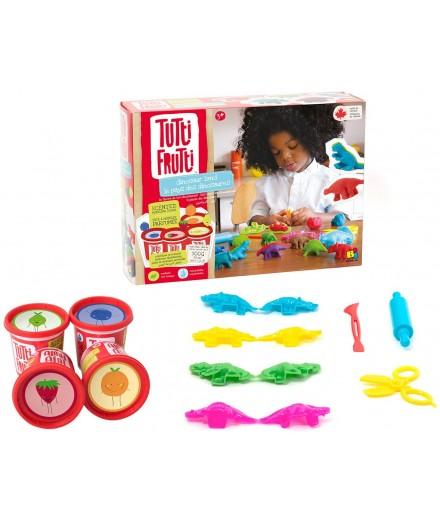 scented modeling dough - DINOSAURS