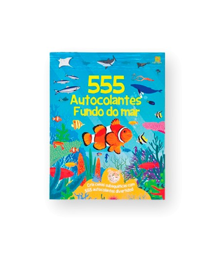 555 AUTOCOLANTES - FUNDO DO MAR