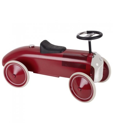 VINTAGE RIDE-ON RED