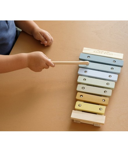 WOODEN BLUE XYLOPHONE