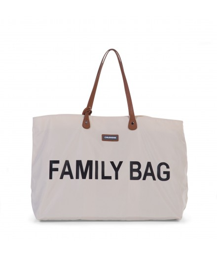 FAMILY BAG OFF WHITE