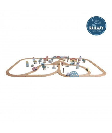 RAILWAY TRAIN XXL SET