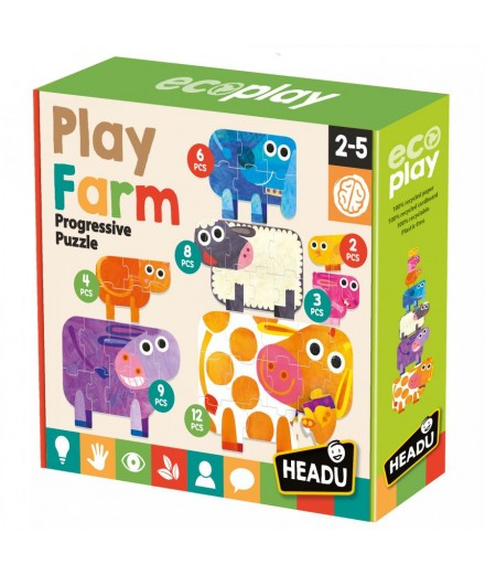 PLAY FARM PROGRESSIVE PUZZLE