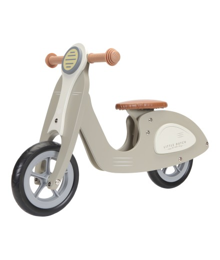 SCOOTER HOUT OLIVE