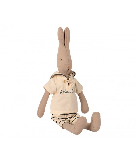 RABBIT SIZE 2 SAILOR OFF-WHITE/PETROL