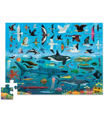 PUZZLE 48 PCS - ABOVE AND BELOW SKY AND SEA