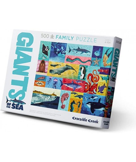 PUZZLE 500 PCS - GIANTS OF THE SEA