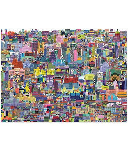 PUZZLE 1000 PCS - BUILDINGS OF THE WORLD