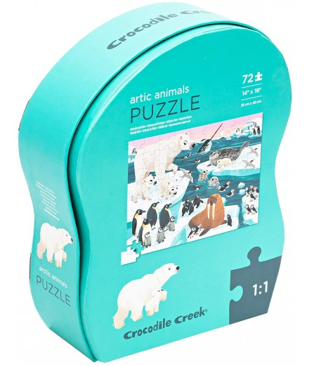 PUZZLE 72 PCS - ANIMAIS DO ÁRTICO