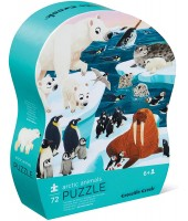 PUZZLE 72 PCS - ARCTIC ANIMALS