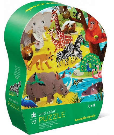 PUZZLE 72 PCS - SAFARI