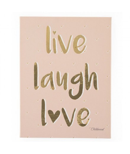 Oil Painting LIVE LAUGH LOVE