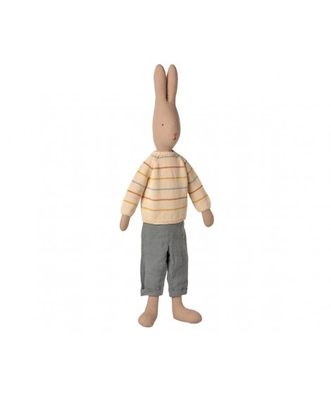 RABBIT SIZE 5 PANTS AND KNITTED SWEATER