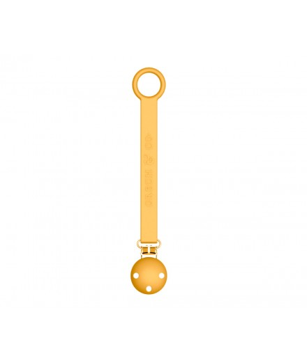 SILICONE PACIFIER STRAP - GOLDEN