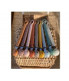 SILICONE PACIFIER STRAP - BURLWOOD