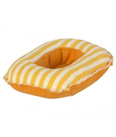 RUBBER BOAT SMALL MOUSE - YELLOW STRIPE