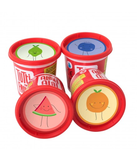 scented modeling dough - summer scents