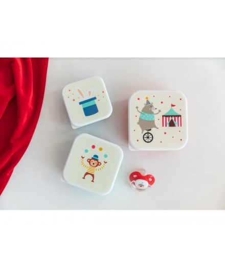 LUNCHBOXES CIRCUS - 3 PACK