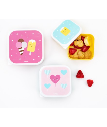 LUNCHBOXES SUGARY - 3 PACK