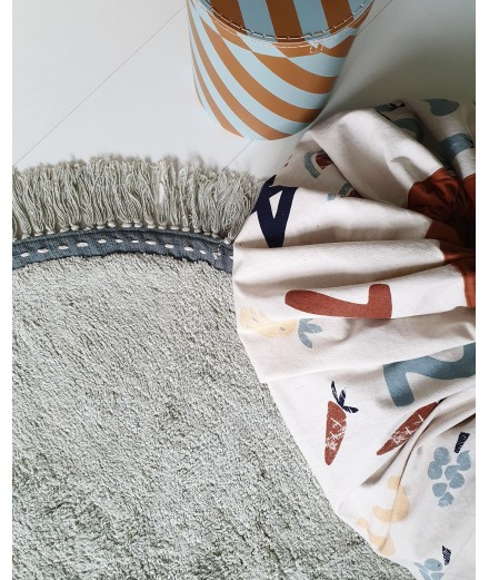 WASHABLE RUG LILY MINT