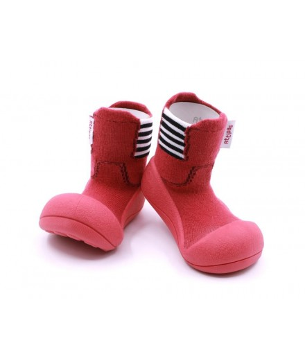 ATTIPAS RAIN BOOTS RED SIZE 20