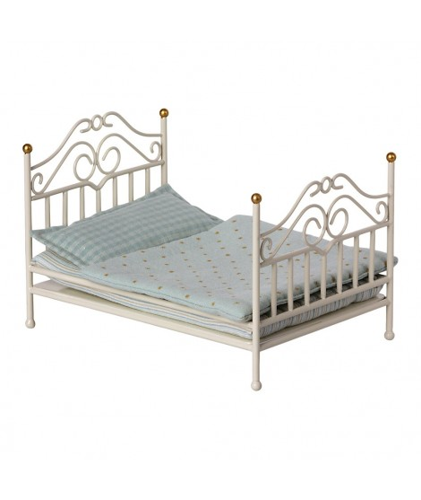 VINTAGE BED MICRO - OFF WHITE