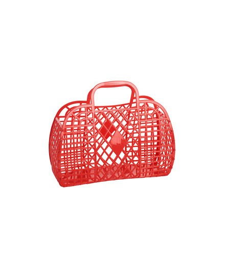 Retro Basket Large Red