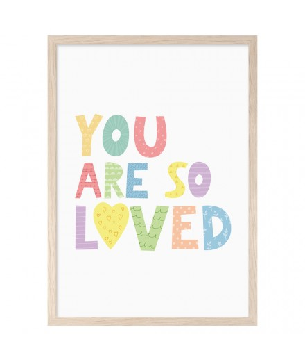 Print YOU ARE SO LOVED