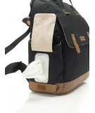 Robyn Convertible Backpack - Black