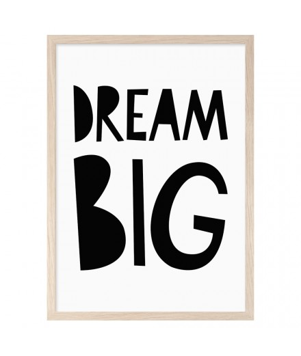 Print DREAM BIG