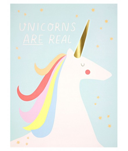 Rainbows & Unicorns Art Prints