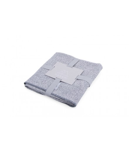 Baby Blanket Knit Grey