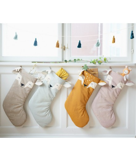 Christmas Stocking - Sleepy Deer