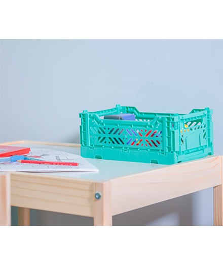 Folding Crate Mini - Mint