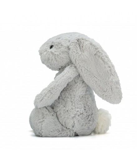 Bashful Silver Bunny Medium