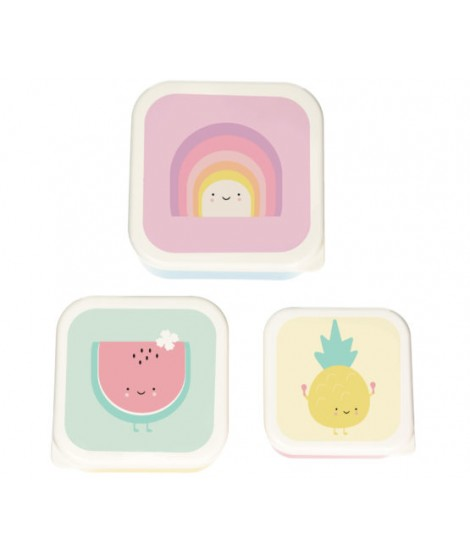 Lunchboxes Aloha Rainbow - 3 pack