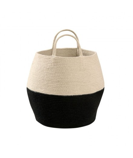 Basket Zoco Black- Natural