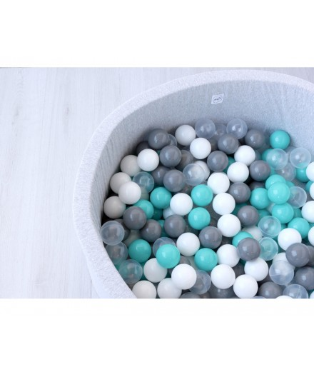 Dry Pool Light Grey - Turquoise
