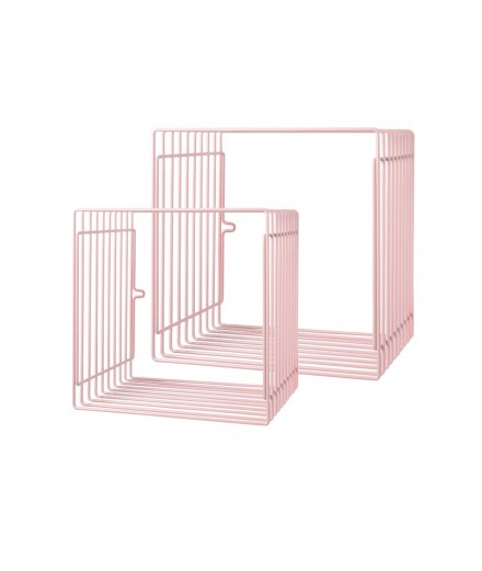 Square Wire Shelf - Pink