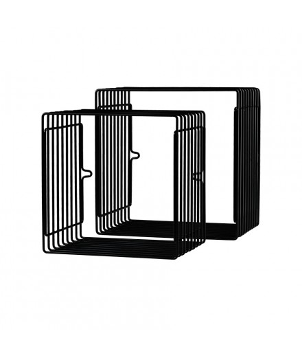Square Wire Shelf - Black