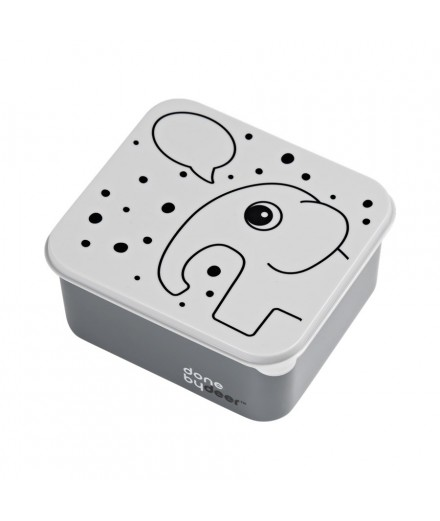 Lunch box Elphee grey