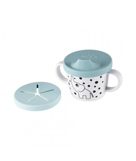 Spout cup Happy Dots Blue