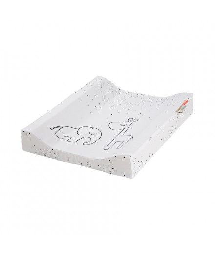 Changing Pad Dreamy Dots white